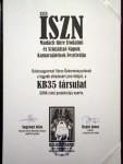 A KB35 INÁRCS SUHA c. produkciója nyerte a 35. Madách Imre Irodalmi és Színjátszó Napok – Kamarajátékok Fesztiválját, az ISZN-t